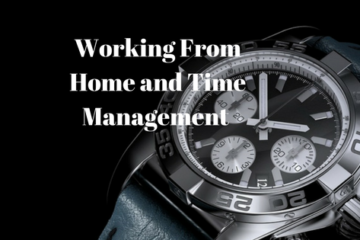 Working from home and time management