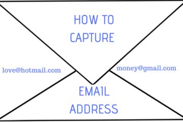 How to capture email address